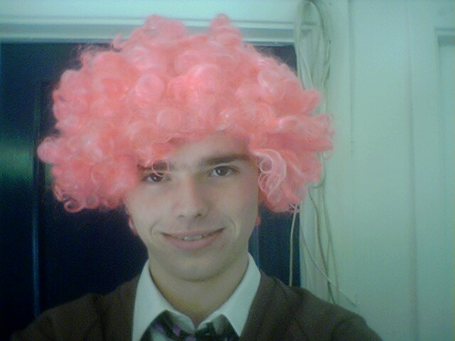 Sam With A Pink Wig